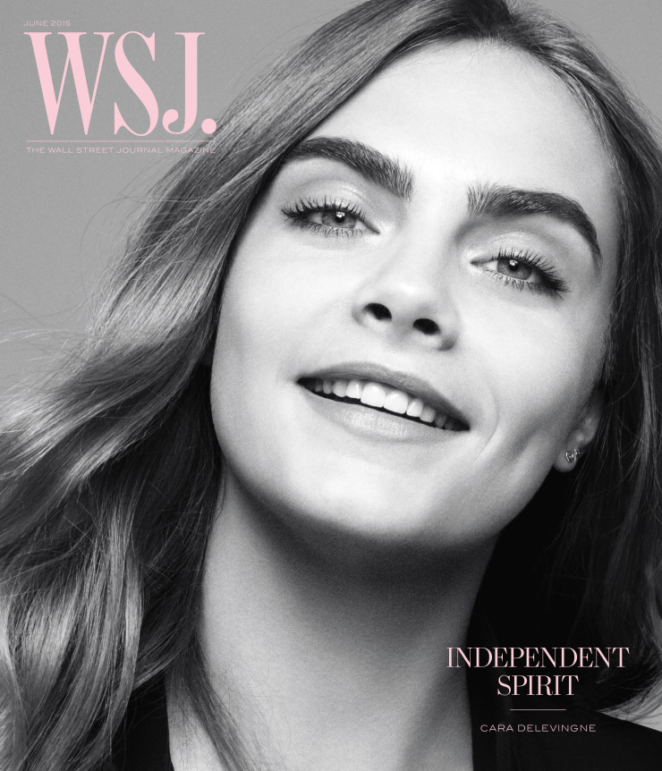Cara Delevingne by Daniel Jackson for WSJ Magazine June 2015 (1)
