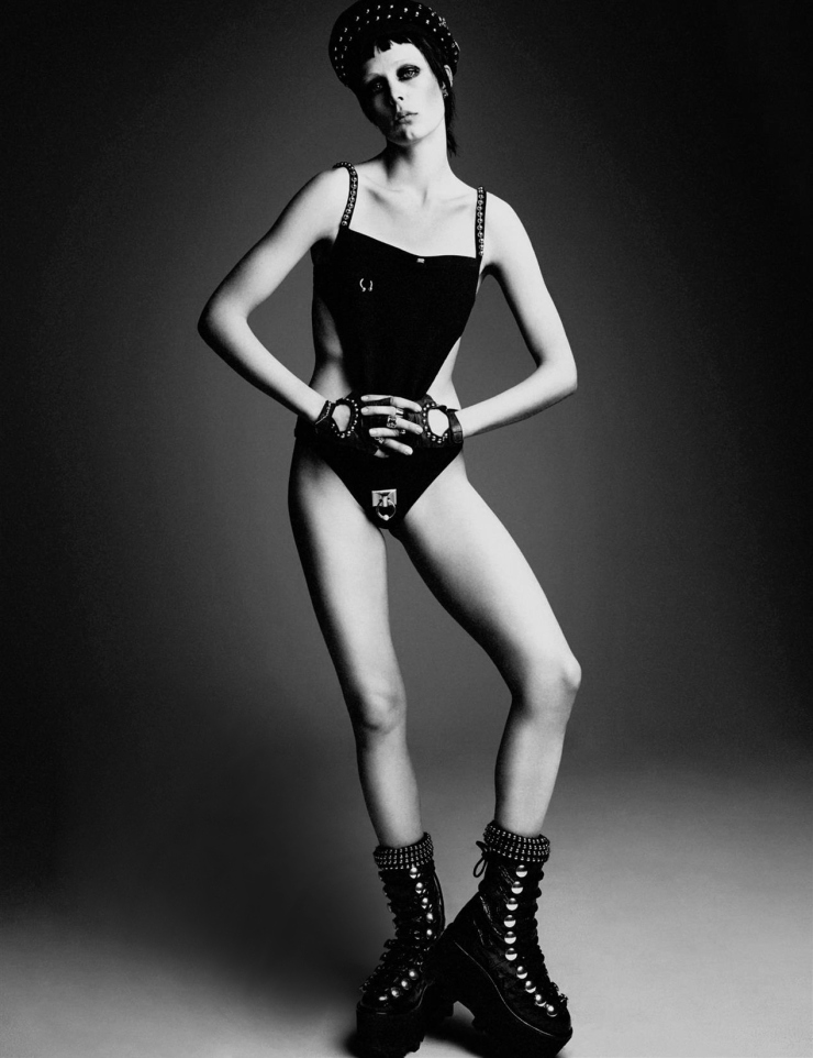 Edie Campbell by Patrick Demarchelier for Interview Magazine May 2015 (1)