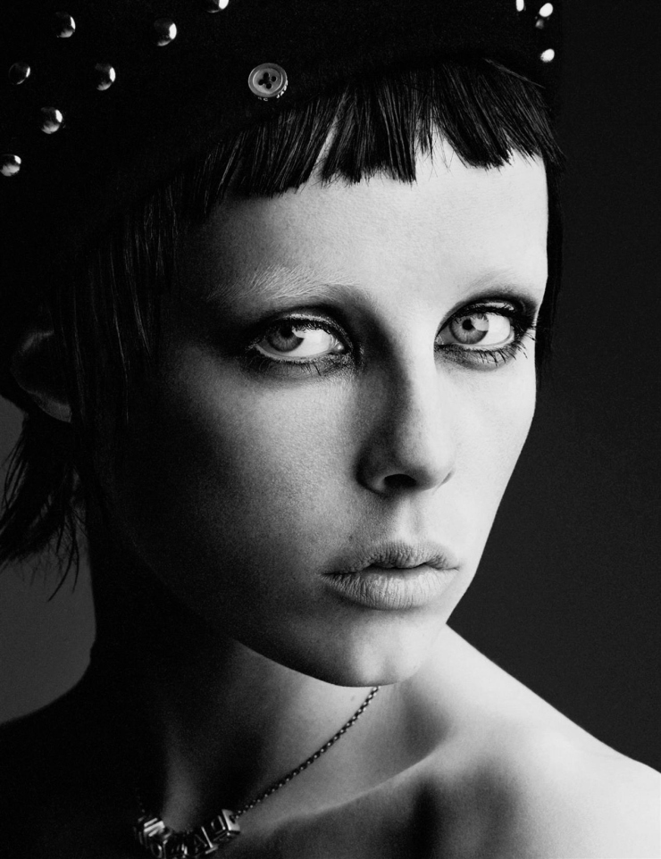 Edie Campbell by Patrick Demarchelier for Interview Magazine May 2015 (2)