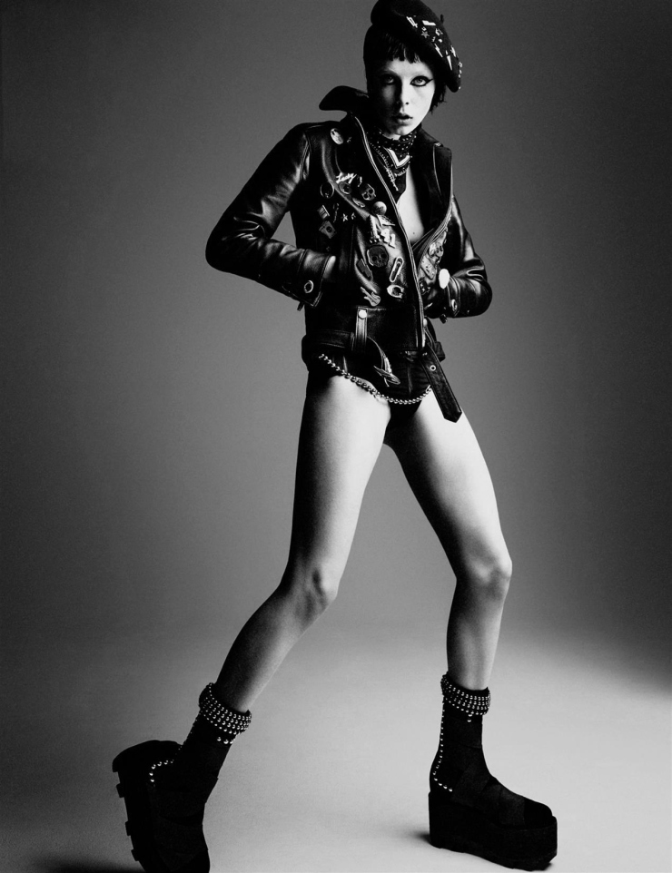 Edie Campbell by Patrick Demarchelier for Interview Magazine May 2015 (6)