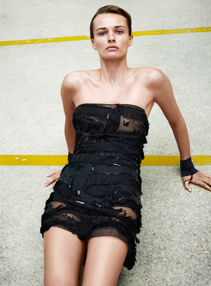 Edita Vilkeviciute By Collier Schorr For Flair Magazine May 2015 (1)