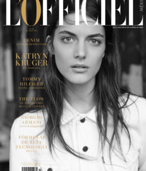 KATRYN KRUGER BY ROKAS DARULIS FOR L'OFFICIEL MEXICO MAY 2015