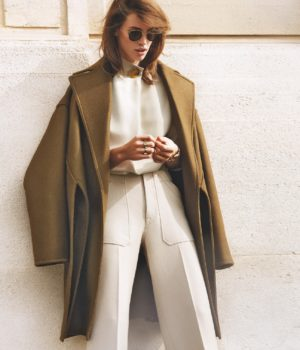 THE SUMMER COAT : CRISTA COBER BY ALIQUE FOR PORTER MAGAZINE SUMMER 2015
