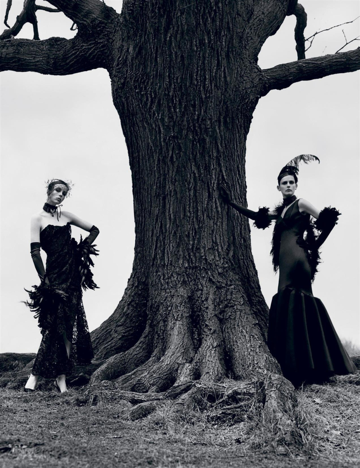 Edie Campbell & Stella Tennant By Alasdair McLellan For i-D Magazine Summer 2015 (1)