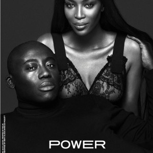 Edward Enninful & Naomi Campbell For Industrie Magazine