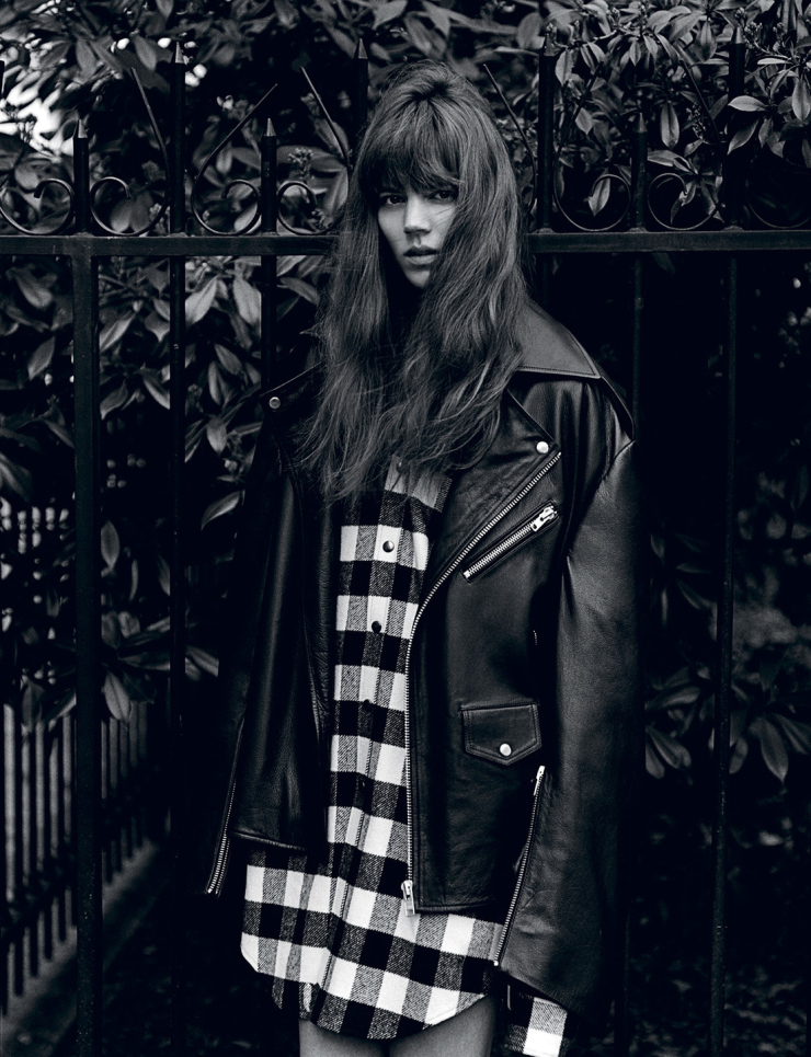 Freja Beha Erichsen by Alasdair McLellan for i-D Magazine Summer 2015 (4)