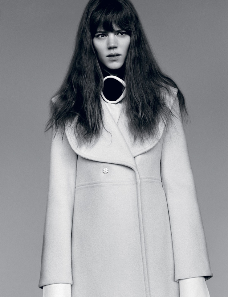 Freja Beha Erichsen by Alasdair McLellan for i-D Magazine Summer 2015 (6)