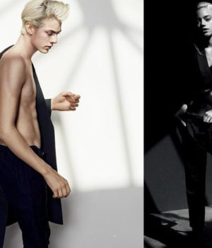 LUCKY BLUE SMITH & PYPER AMERICA BY DAVID ROEMER FOR HARPER'S BAZAAR CHINA MAY 2015 TEEN SPIRIT