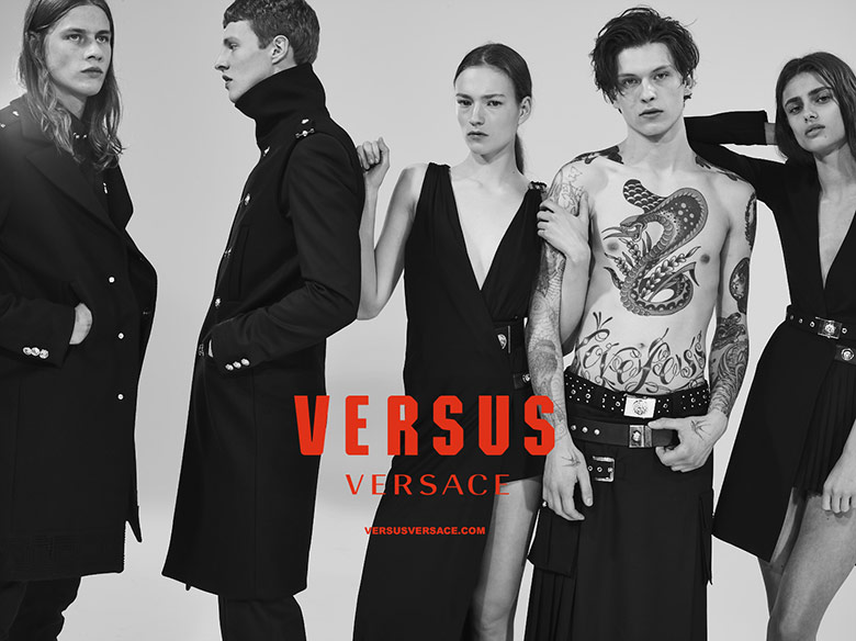 Versus Versace Fall-Winter 2015-2016 Ad Campaign (1)