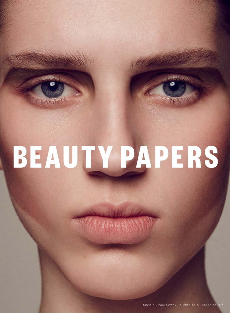 Beauty Papers Magazine Summer 2015 Sabina Lobova by Bruno Staub (6)