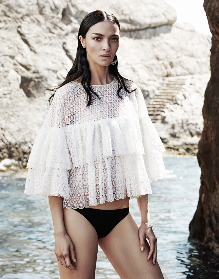 The Modern Muse Mariacarla Boscono By Alique For The Edit July 2015 (2)