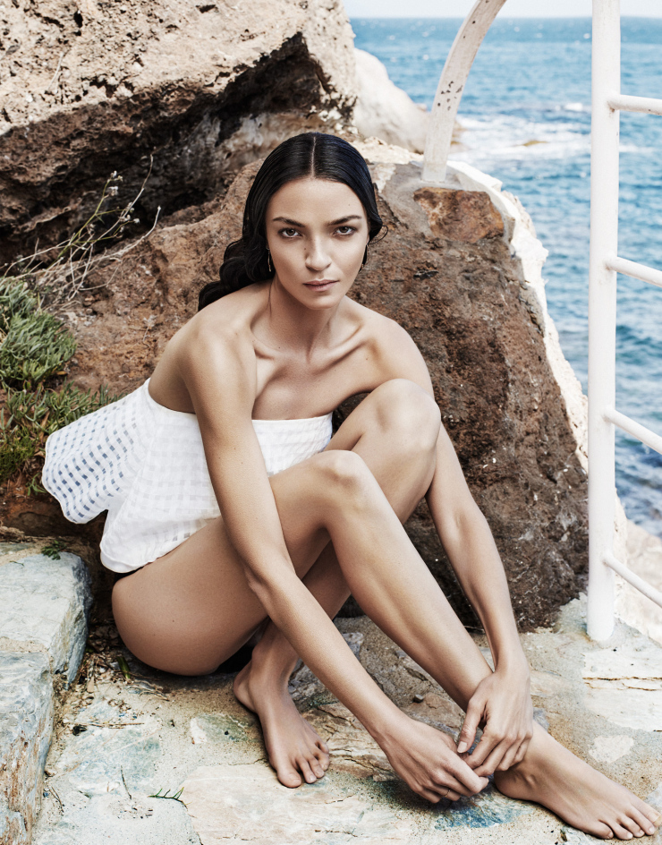 The Modern Muse Mariacarla Boscono By Alique For The Edit July 2015 (9)