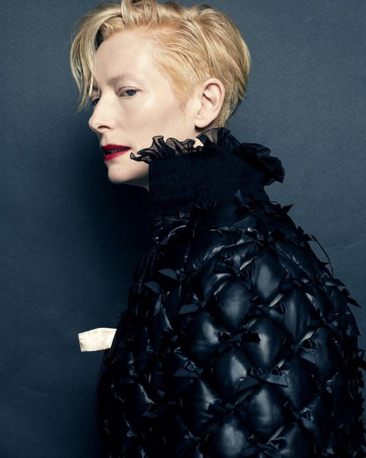 Tilda Swinton by Hong Jang Hyun for Vogue Korea August 2015 (2)