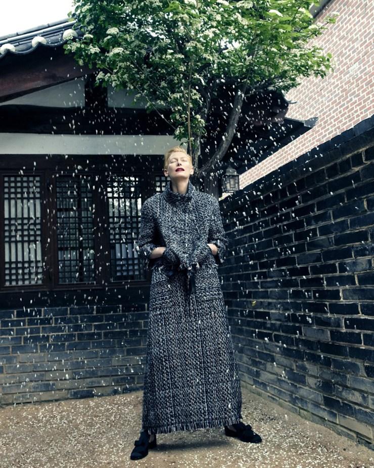 Tilda Swinton by Hong Jang Hyun for Vogue Korea August 2015 (3)