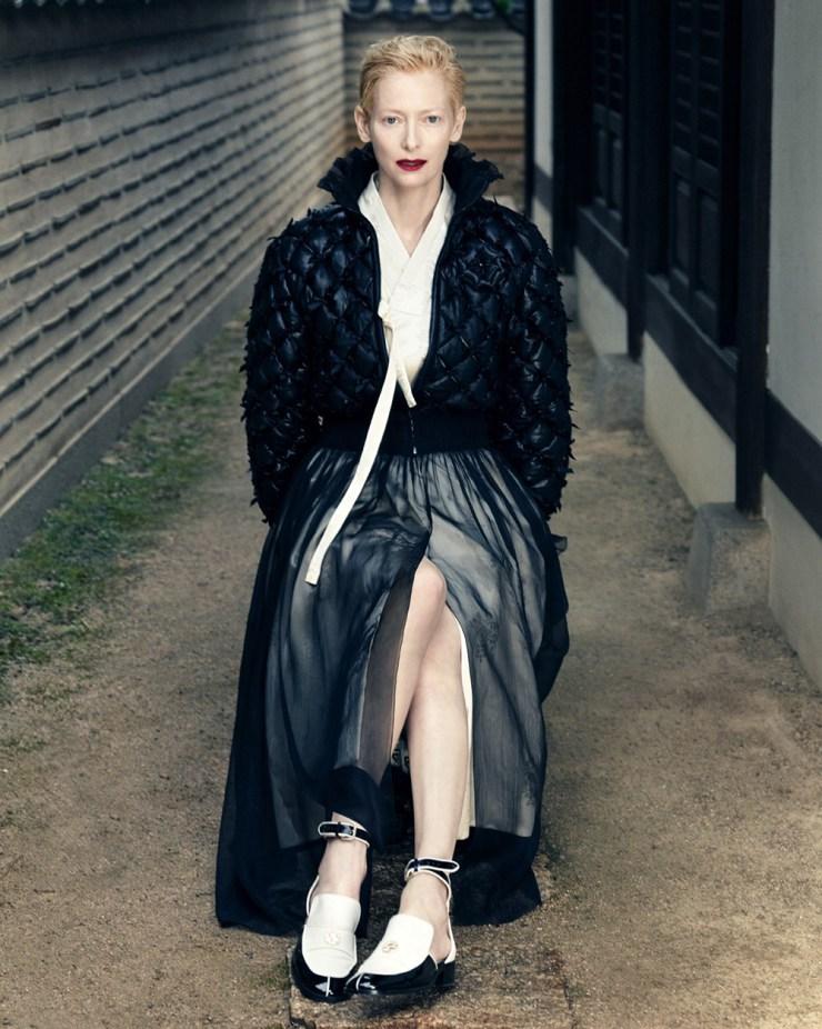 Tilda Swinton by Hong Jang Hyun for Vogue Korea August 2015 (5)
