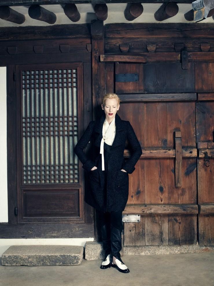 Tilda Swinton by Hong Jang Hyun for Vogue Korea August 2015 (7)
