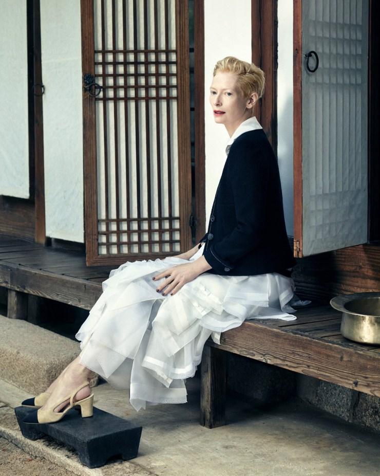 Tilda Swinton by Hong Jang Hyun for Vogue Korea August 2015 (8)