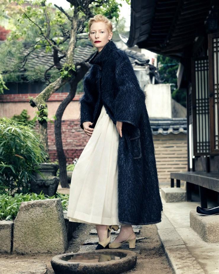 Tilda Swinton by Hong Jang Hyun for Vogue Korea August 2015 (9)