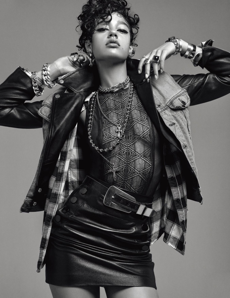 Bad Girl Damaris Goddrie by Jean-Baptiste Mondino for Numero Magazine September 2015 (3)