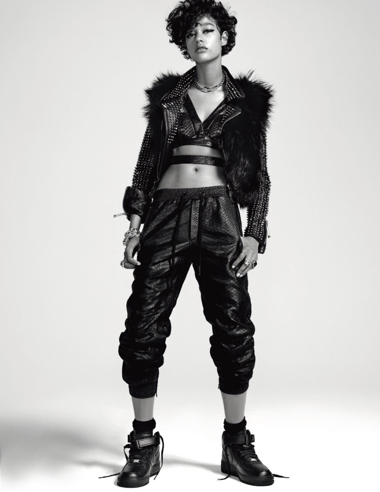 Bad Girl Damaris Goddrie by Jean-Baptiste Mondino for Numero Magazine September 2015 (4)