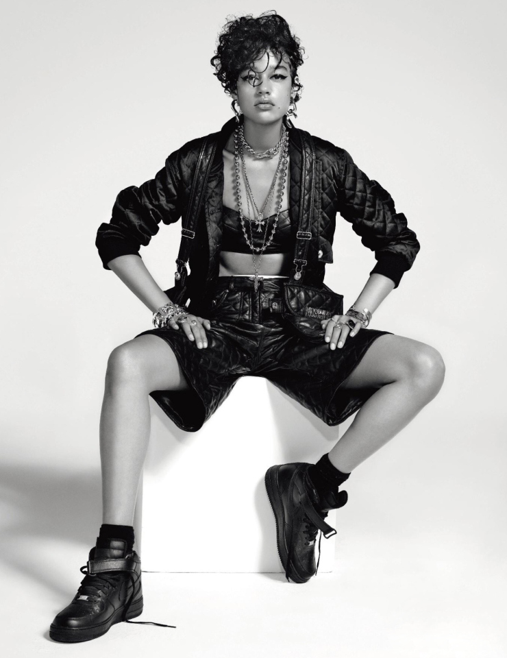 Bad Girl Damaris Goddrie by Jean-Baptiste Mondino for Numero Magazine September 2015 (5)