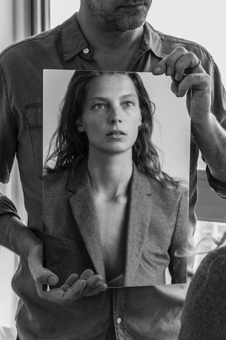 Daria Werbowy for Equipment Fall-Winter 2015-2016 Ad Campaign (1)
