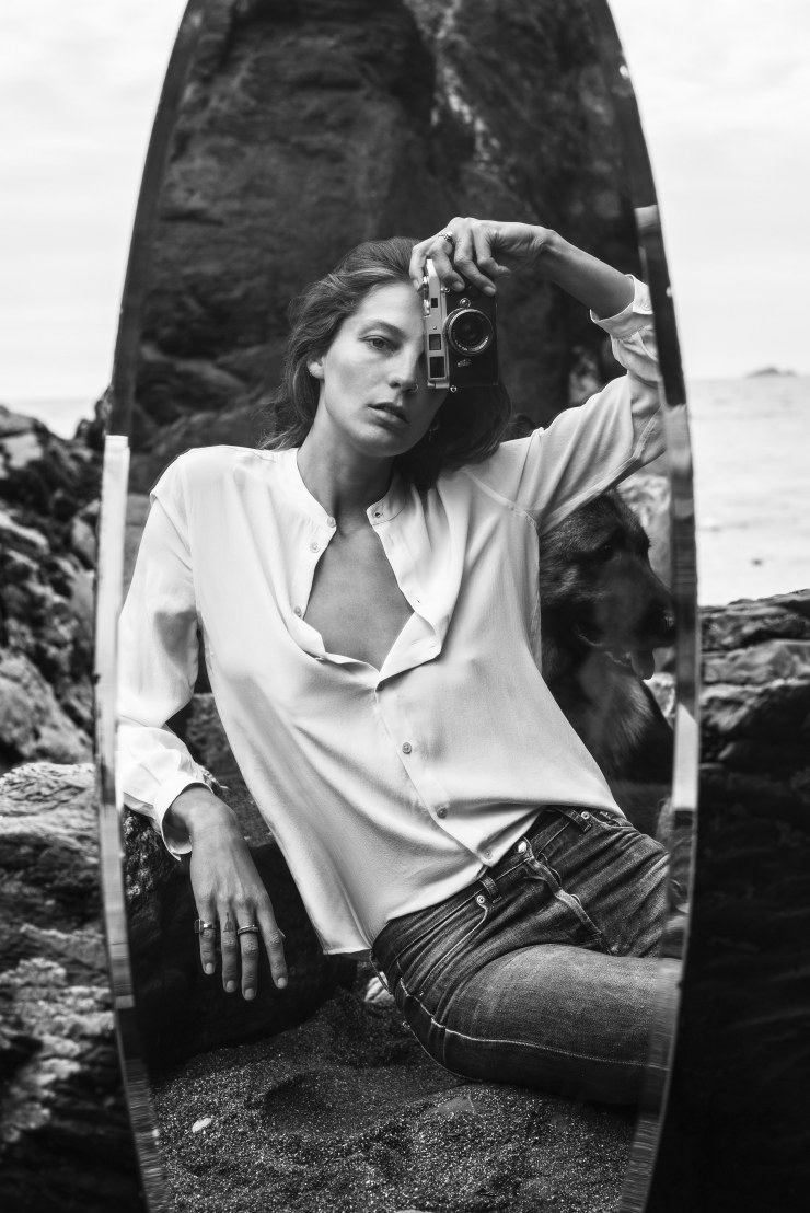 Daria Werbowy for Equipment Fall-Winter 2015-2016 Ad Campaign (4)