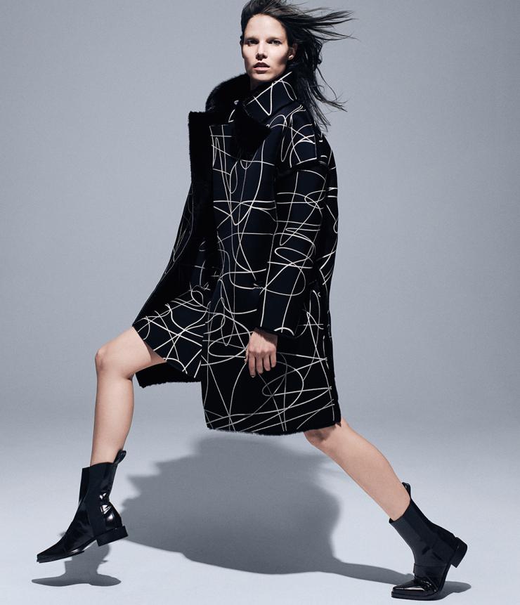 Fall Fashion Gets Graphic Suvi Koponen By Daniel Jackson