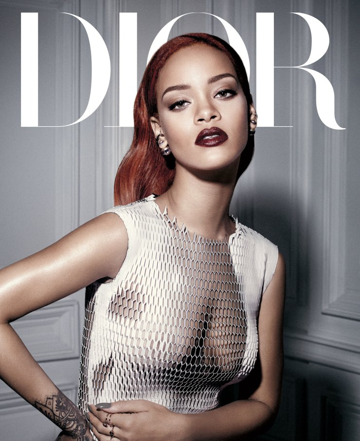Rihanna by Craig McDean for Dior Magazine September 2015 (1)
