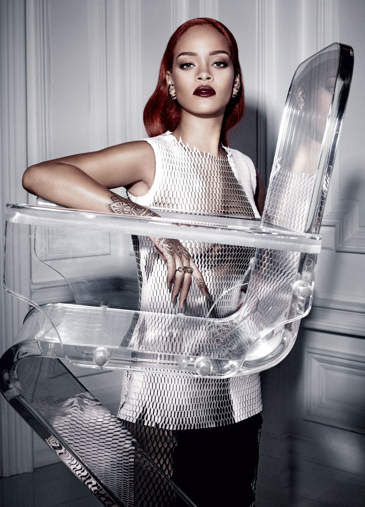 Rihanna by Craig McDean for Dior Magazine September 2015 (11)