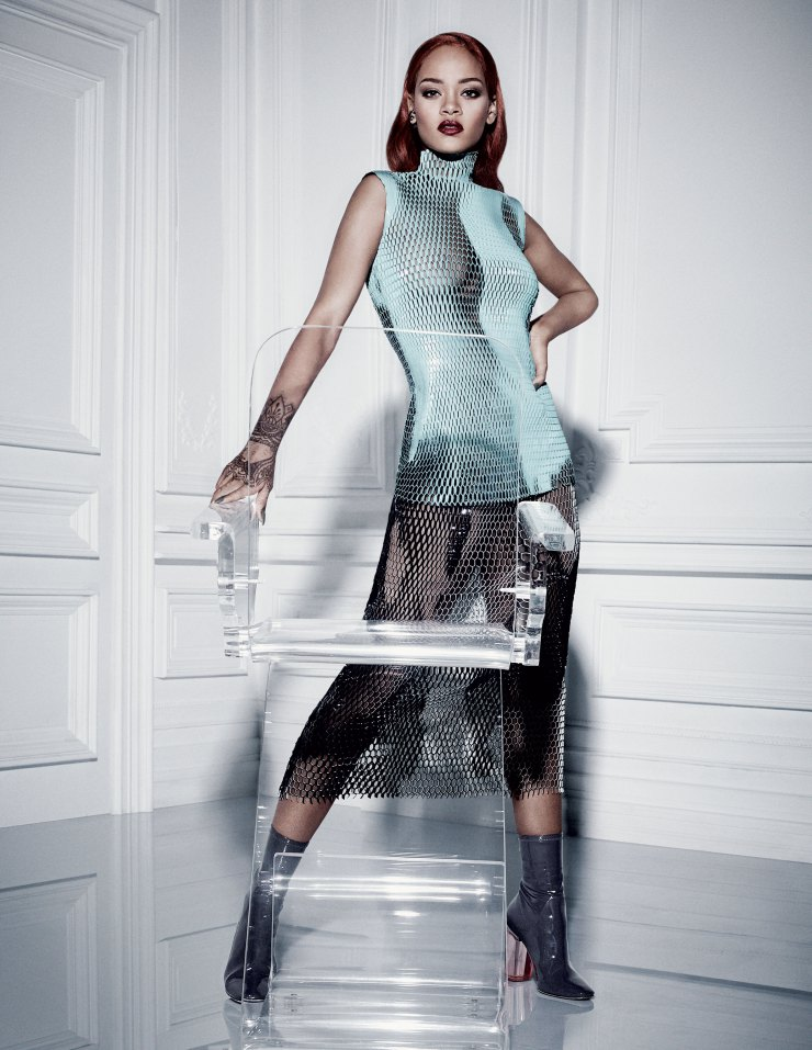 Rihanna by Craig McDean for Dior Magazine September 2015 (2)