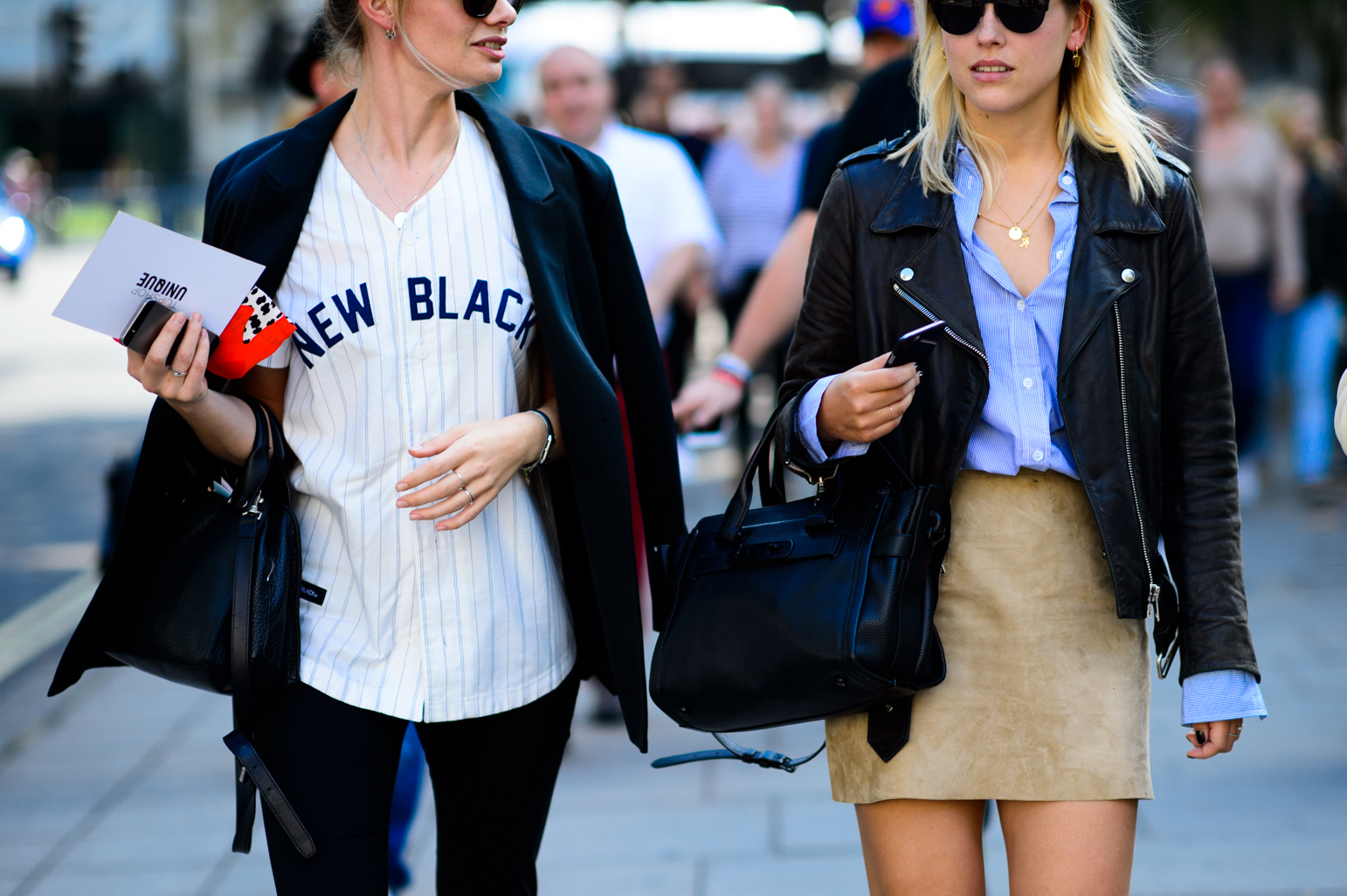 London Fashion Week Spring 2016 Street Style 51 Minimal Visual