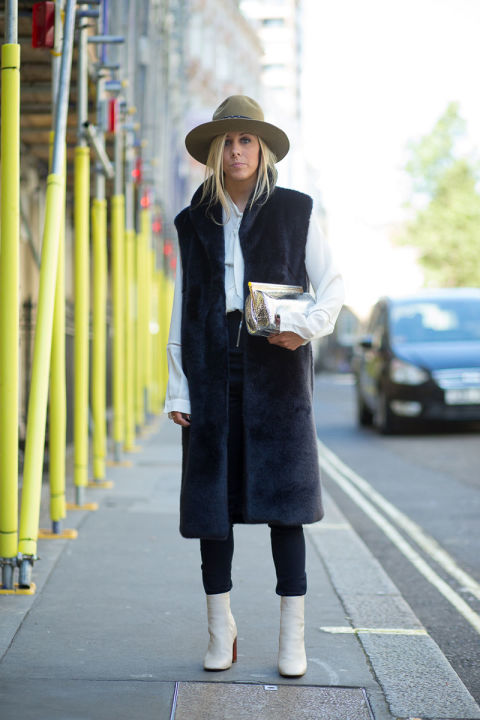 London Fashion Week Spring 2016 Street Style 65 Minimal Visual