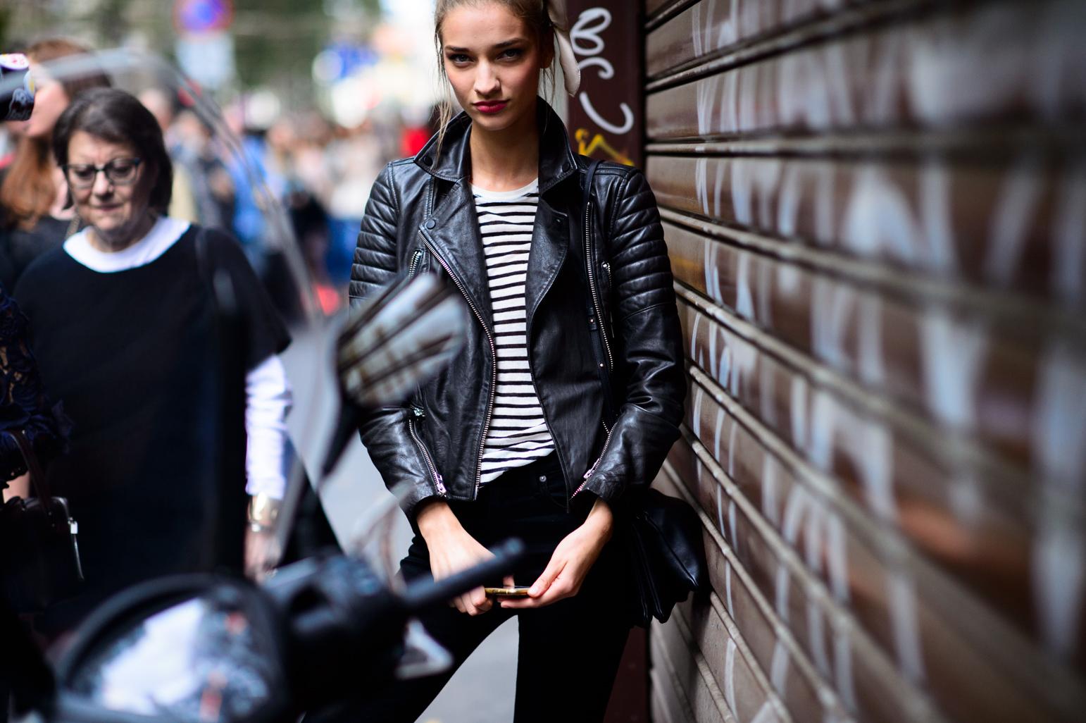 Milan Fashion Week Spring 2016 Street Style 1 Minimal Visual