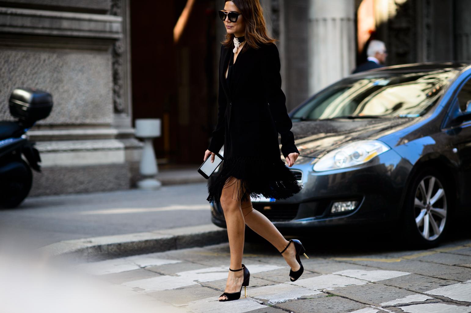 Milan Fashion Week Spring 2016 Street Style 29 Minimal Visual