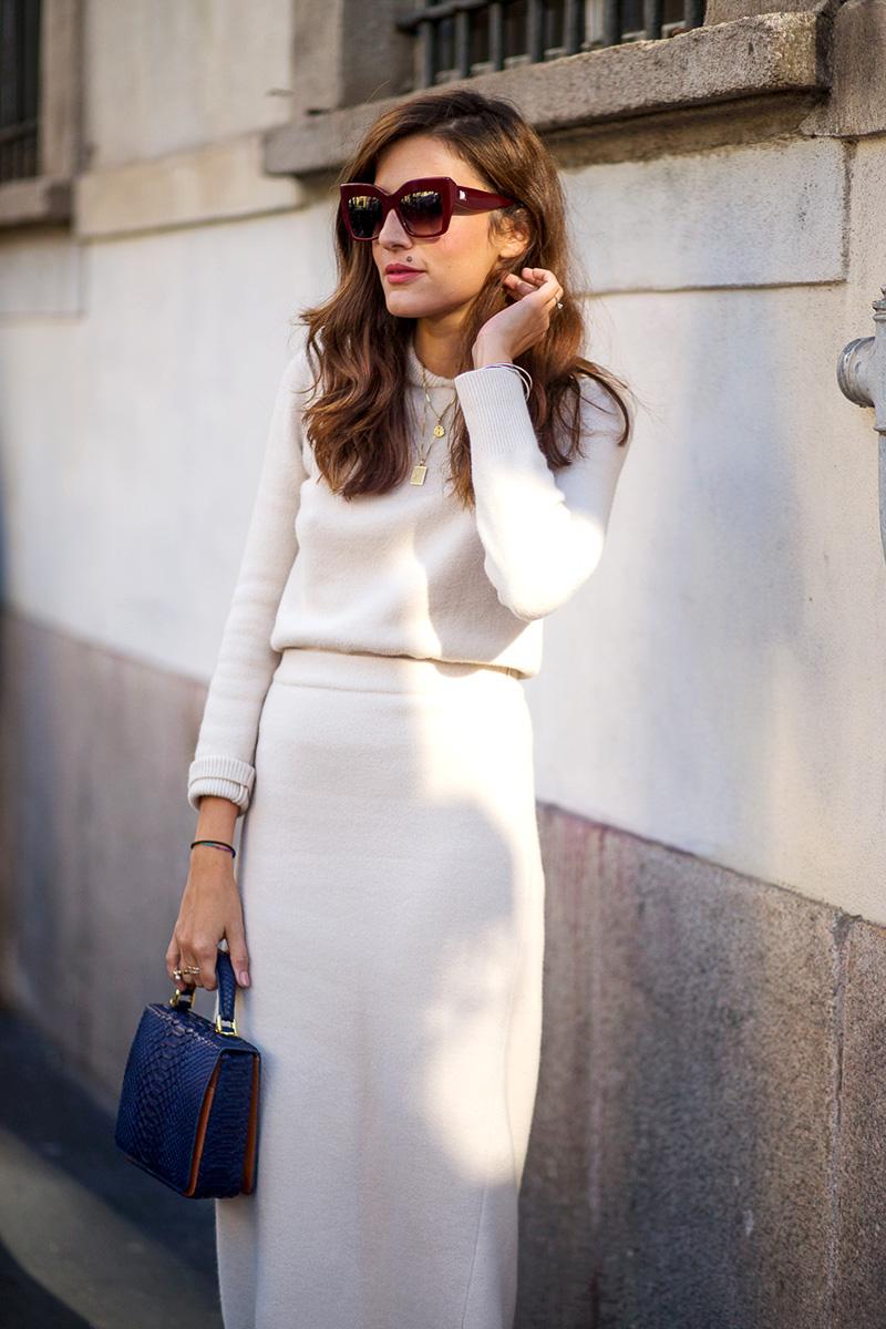Milan Fashion Week Spring 2016 Street Style 3 Minimal Visual