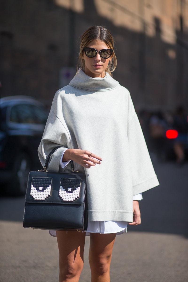 Milan Fashion Week Spring 2016 Street Style 47 Minimal Visual