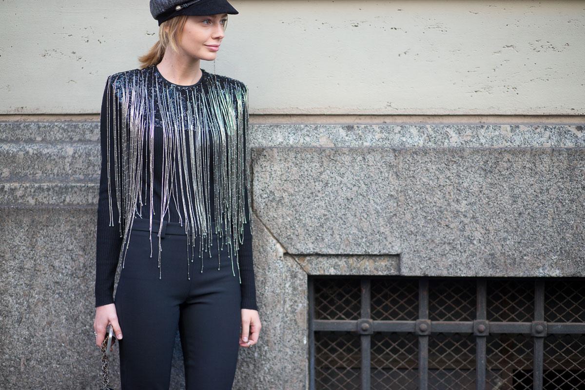 Milan Fashion Week Spring 2016 Street Style 48 Minimal Visual