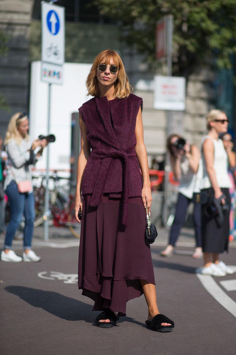 Milan Fashion Week Spring 2016 Street Style 76 Minimal Visual