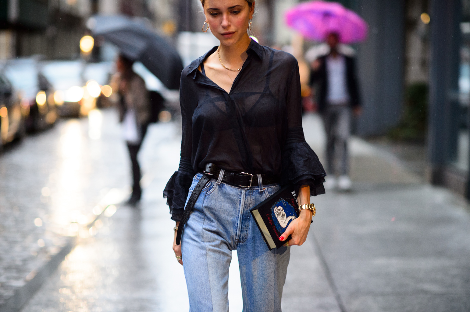 New York Fashion Week Spring 2016 Street Style 174