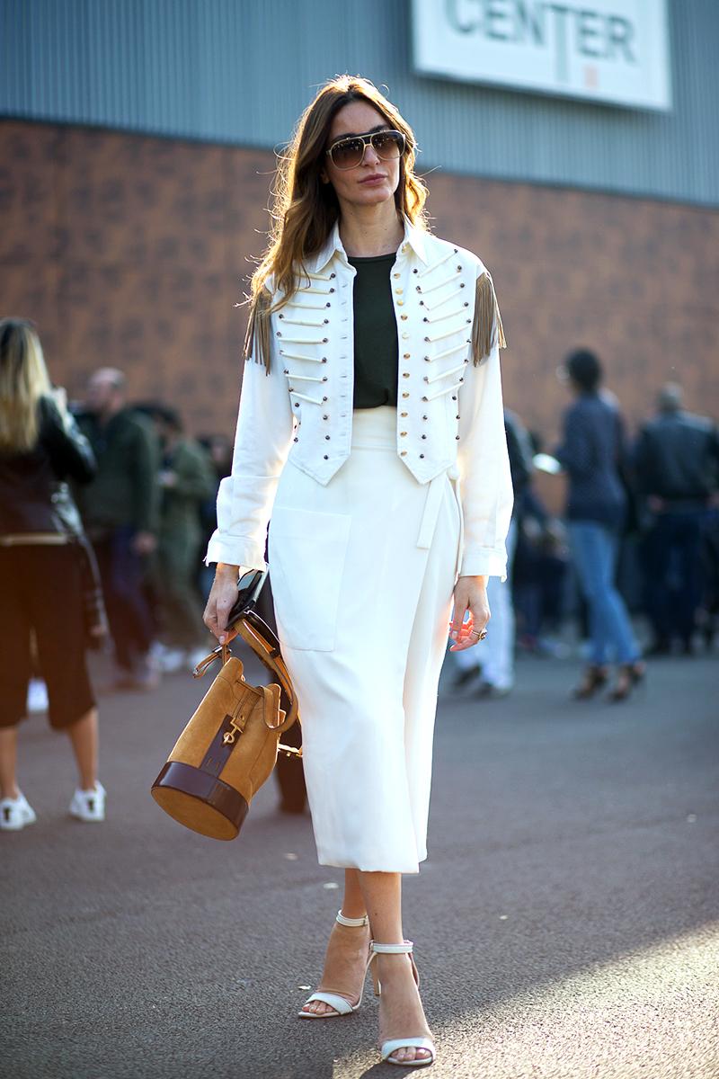 Paris Fashion Week Spring 2016 Street Style 103 Minimal Visual