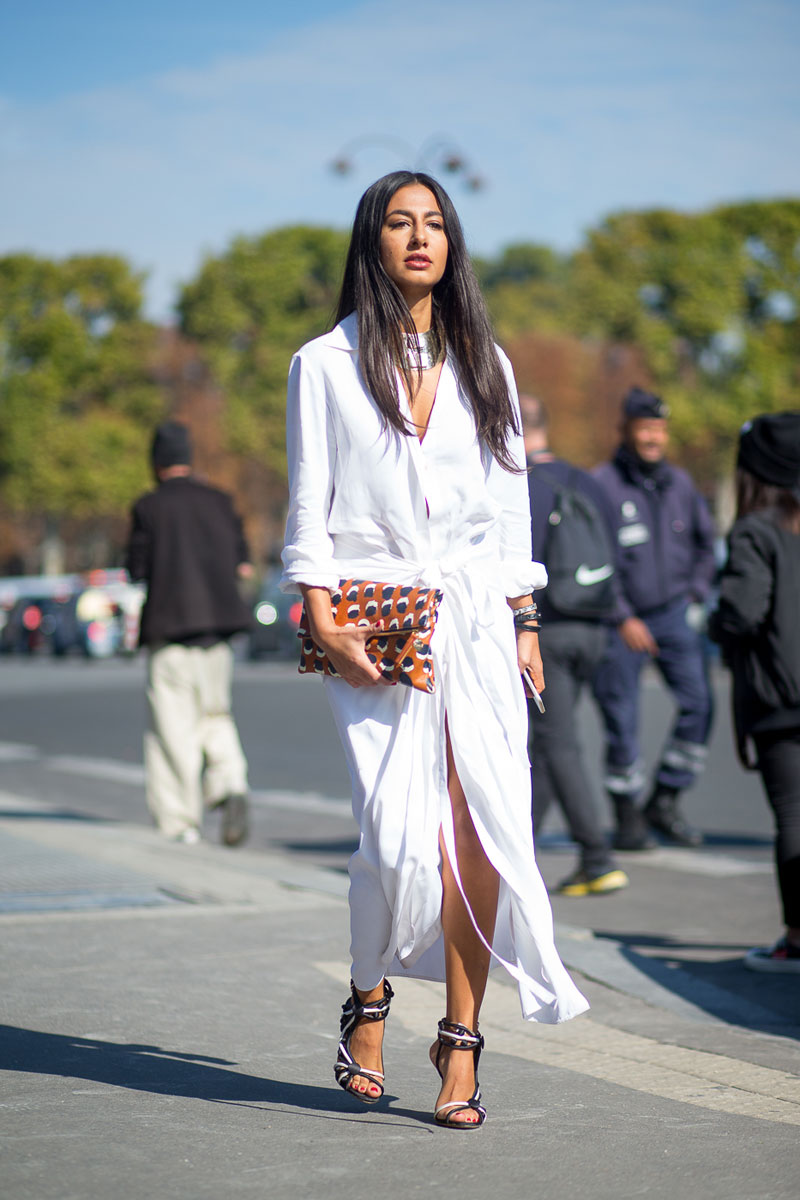 Paris Fashion Week Spring 2016 Street Style 26 Minimal Visual