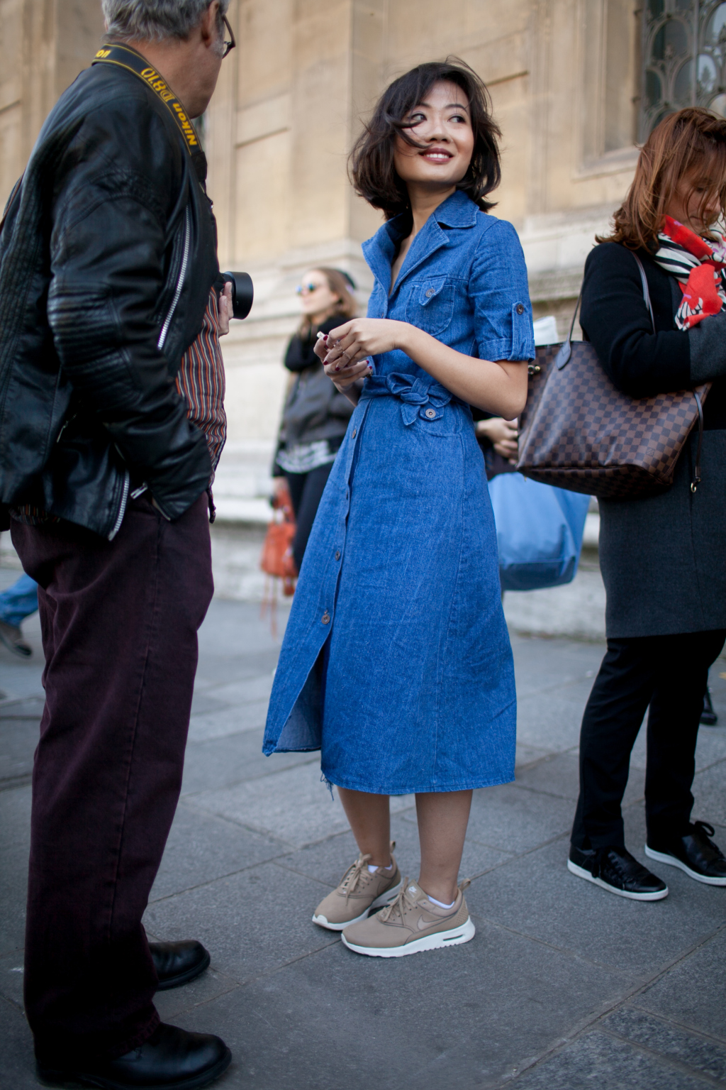 Street Style Spring Summer 2016 Paris Fashion Week