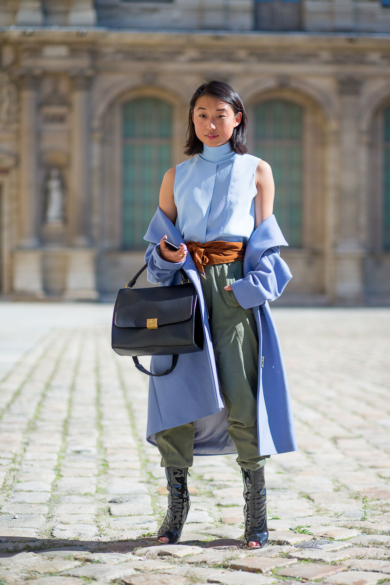 Paris Fashion Week Spring 2016 Street Style 97