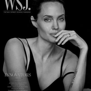 Angelina Jolie Pitt By Peter Lindbergh For WSJ Magazine November 2015