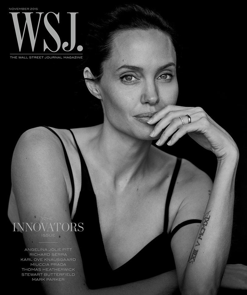 Angelina Jolie By Peter Lindbergh For WSJ Magazine November 2015 (1)