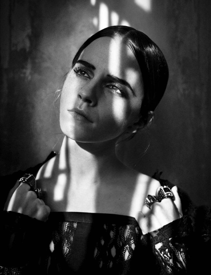 Emma Watson by Vincent Peters for Vogue Italia November 2015 (1)
