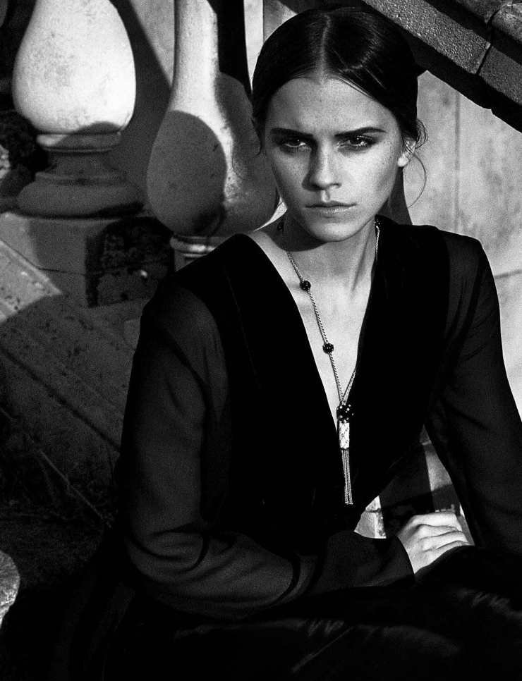 Emma Watson by Vincent Peters for Vogue Italia November 2015 (3)