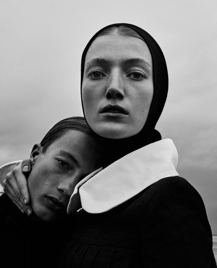 November 2015 Black Issue of Vogue Ukraine With Lou Schoof & Nils Schoof (1)