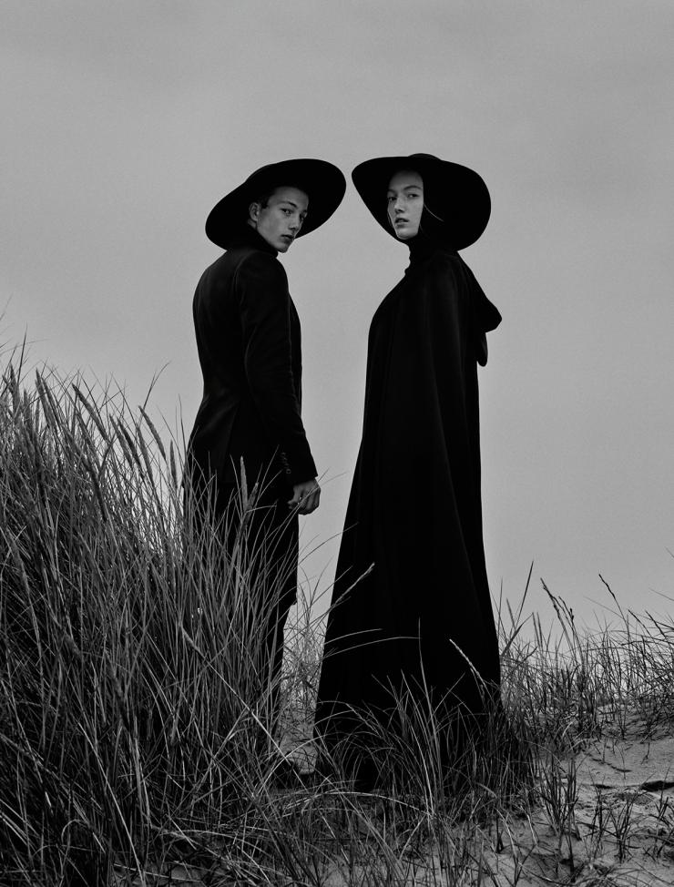 November 2015 Black Issue of Vogue Ukraine With Lou Schoof & Nils Schoof (2)